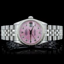 Rolex SS Oyster Perpetual DateJust Men's Watch