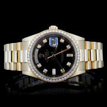 Rolex 18K Presidential Men's Diamond Watch