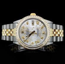 Rolex Two-Tone DateJust Diamond Gent's Watch