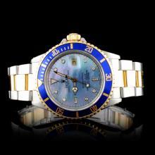 Rolex Two-Tone Submariner Men's Wristwatch