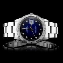 Rolex SS DateJust Men's Wristwatch