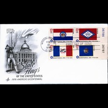 1976 US First Day Postal Cover Plate Block
