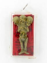 Handformed Spice Traimese Skeleton Amulet