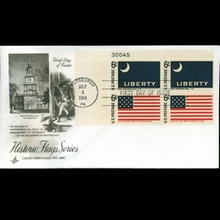 1968 US First Day Plate Block Postal Cover