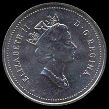 1995 Canada 5c Hi Grade GEM Unc