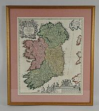 C. 1720 MAP OF IRELAND