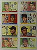 1955 Topps 8 Card Lot w. Warren Spahn