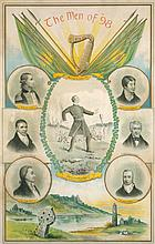 1798: The Men of '98 commemorative poster