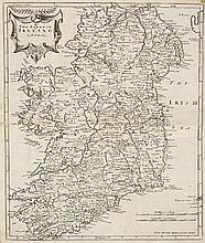 17th Century Map. Mordon, Robert. The Kingdom of Ireland