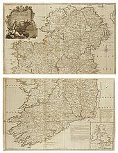 Rocque (John) A Map of the Kingdom of Ireland (2)
