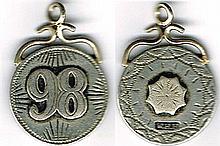1798 Centenary silver medal