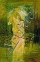 Maurice Desmond (b.1944) BATHING NUDE, 1980