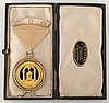 1894: Dublin Masonic jewel presented to 'Brother Drury...'