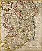 circa 1695: The Kingdom of Ireland Map by Robert Morden