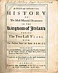 Story, George Walter: A True and Impartial History of the Most Material Occurrences in The Kingdom of Ireland. 1693