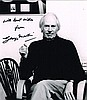 George Martin: Signed photograph