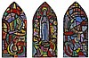 Evie Hone HRHA (1894-1955) CARTOON FOR PENTECOST WINDOW, BLACKROCK COLLEGE, COUNTY DUBLIN, c.1940