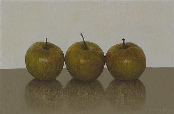 Comhghall Casey (b.1976) THREE APPLES, 2007