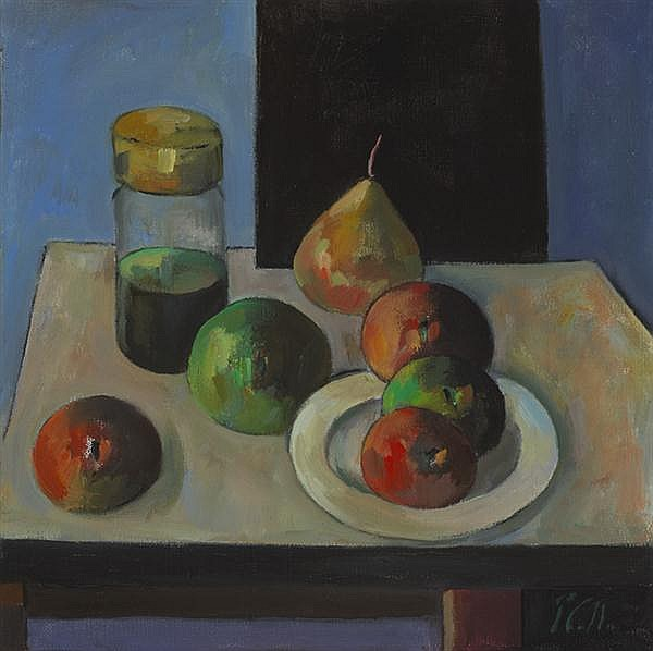 Peter Collis RHA (1929-2012) STILL LIFE WITH OIL JAR