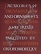 1868: Facsimiles of the Miniatures and Ornaments of Anglo-Saxon and Irish Manuscripts by J.O. Westwood