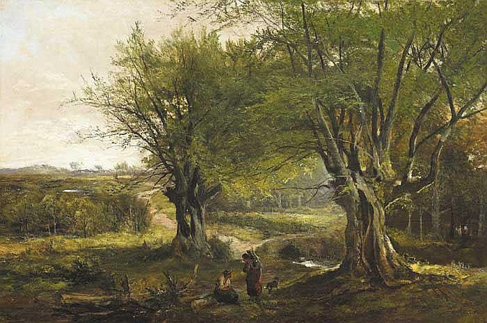 Henry Allan (1865-1912) LAGAN BROOK, COUNTY LOUTH,