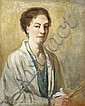 Eva Henrietta Hamilton (1876-1960) SELF PORTRAIT,