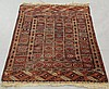 Yomud oriental mat with overall geometric patterns. 4'2