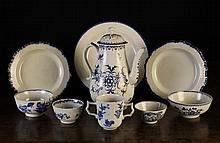 A Collection of Mainly 18th Century Blue & White P