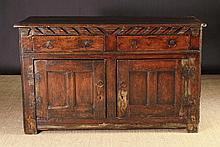 A Fine 18th Century Low Enclosed Dresser of well p
