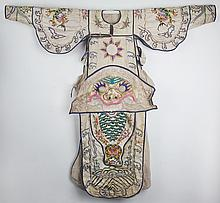 A FINELY EMBROIDERED WARRIOR DRESS