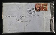 A FINE OLD BRITISH LETTER WITH STAMPS