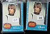 2 1977 Topps Star Wars Partial Sets