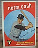 1959 topps #509 Norm Cash rc
