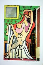 Picasso Limited Edition - Nude In AN Armchair - from Collection Domaine Picasso