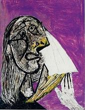 Limited Edition Picasso - The Weeping Woman - Collection Domaine Picasso
