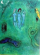 BY CHAGALL- Dream and the Nymphs