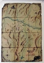 Colorado Map Lithograph (N)