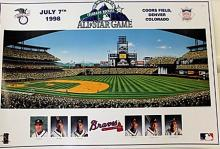 Braves All Star Game Poster (N)
