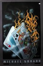 Burning Blackjack by Michael Godard (N)