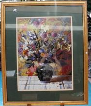 Framed Fine Art With Artist Signature (N)