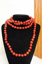LADIES FANCY CORAL NECKLACE