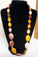 LADIES BEAUTIFUL MIXED ALL REAL QUARTZ NECKLACE