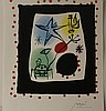 Lithograph, Signed by Joan Miro