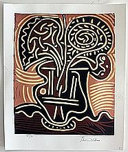 Limited Edition Lithograph By Pablo Picasso