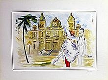 Limited Edition Lithograph by Piroska