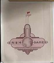 1984 Los Angeles Games Poster