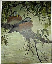 LIMITED EDITION Lithograph Signed and Numbered by ROBERT BATEMAN(1997) 96/550