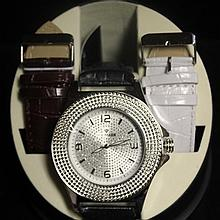 Men's Very Fancy Ice Maxx Watch with exchangable Leather Strap. (425J)