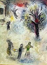 BY CHAGALL- The Meal at Dryas's House Part 2