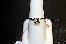 Lady's 10K Yellow Gold Citrine/ Diamond Ring (27)